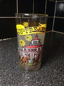 1980 Pimlico 105th Preakness Official Triple Crown Winners Libbey Glass Tumbler