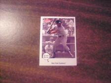 THURMAN MUNSON , NEW YORK YANKEES 2002 FLEER GREATS OF THE GAME CARD #32