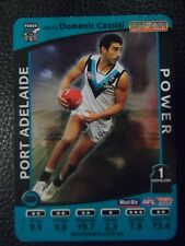 2012 AFL Teamcoach Captain Wild Card 'Domenic Cassisi' Port Adelaide #CW-13