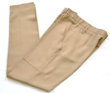 Celine nude/beige  silk trousers Size FR38 new