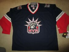 New York Rangers NYR CCM Hockey Statue of Liberty NHL Jersey 54 2XL NEW