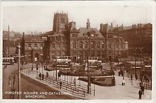 Forster Square & Cathedral, BRADFORD, Yorkshire RP