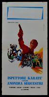 L121 Plakat Bruce Lee Karate' Kampfsport Kung Inspektor Diskreter Anfälle