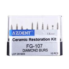 IT Dental Clinic Diamond FG Burs Drill KitFG-101-FG-111 For High Speed Handpiece