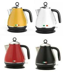 Vintage Electric Kettle 1.7L Stainless Steel Auto OFF 2200W Not Delonghi 4Colors