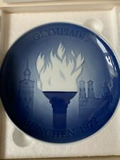 "Royal Copenhagen B & G Olympic Games Munich 1972 - 7"" Collectors Plate"
