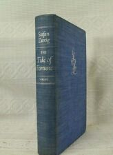 lot 2 old books  THE TIDE OF FORTUNE Rare book by Stefan Zweig & Balzac first ed