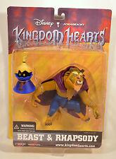 "RARE 2002 6"" Beast 3.5"" Rhapsody NEW Action Figure Disney Kingdom Hearts Mirage"