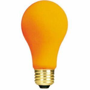 Bulbrite 106540 40W Ceramic Orange A19 Bulb, 1-Pack