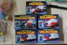 Complete set (plus one) of the 1985 Commandrons McDonald's toys