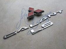 99-02 Mitsubishi Galant Ls MR339344 Logo MR416609DE Emblem nameplate Decals Set