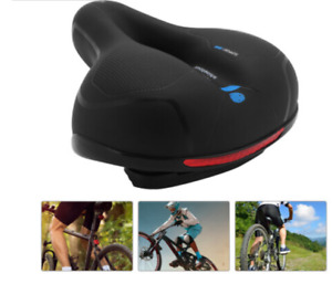 BICYCLE GEL SOFT PAD SADDLE SEAT CRUISER COMFORT SPORTY WIDE EXTRA COMFY