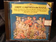 Orff - Carmina Burana  -Anderson / Weikl / Creech /James Levine Chhicago SO & C.