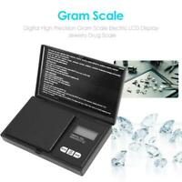 Digital High Precision Gram Scale Electric LCD Display Jewelry Drug Scale #K