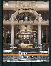 Portugal 2016 MNH Historic Cafes 1v M/S Interior Design Interiors Stamps