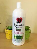 Kachita Keratin FORMALDEHYDE FREE(No Formol)Anti allergic Formula 32oz.