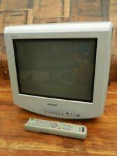 "Sony Trinitron KV-14LT1U 14"" CRT TV with Remote"