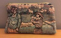 Vintage Tapestry Golf Coin Purse Wallet Holdings Fine Accessories