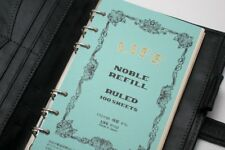Japan Life Noble A6 size 6-hole personal planner organizer refill ruled
