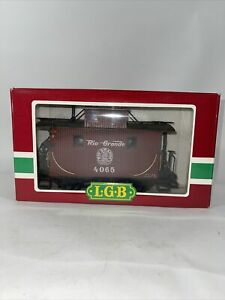 LGB 4065 Rio Grande 2 Axle Caboose Interior & Exterior Light Kit Not Tested