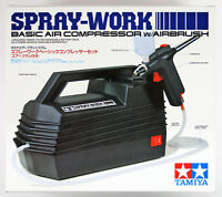 Tamiya 74520 Spray-Work Basic Air Compressor w/Airbrush