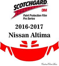 3M Scotchgard Paint Protection Film Pro Series Fits 2016 2017 Nissan Altima