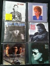 6 CD Lot Acuff Reba Walker Collie Milsap Hill.  FREE SHIPPING