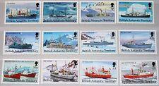 BAT BRITISH ANTARCTIC 1993 203-14 I 202-13 Research Ships Schiffe Forschung MNH