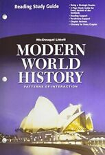 Modern World History: Patterns of Interaction: Reading Study Guide (English)…