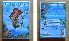 DVD l'Age de Glace 3, neuf sous blister, français anglais, 93 mn, bonus