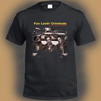 Fun Lovin' Criminals Men's Black T-Shirt Size S M L XL 2XL 3XL