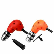90 Degree Right Angle Drill With Keyed Chuck Attachment Drive Adapter Power Tool
