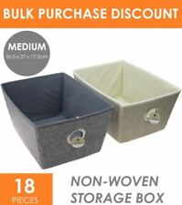 Unbranded Fabric Medium Home Storage Boxes