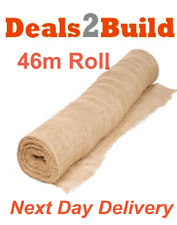 Builders Hessian Frost Protection 1.37m X 46m Roll  FREE NEXT DAY DELIVERY