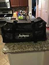 Supreme North Face Rolling Thunder Leopard Suitcase Box Logo