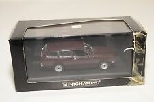 . MINICHAMPS OPEL KADETT C CARAVAN 1973-77 DARK RED/BROWN MINT BOXED