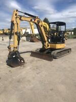 """Used 2014 Caterpillar 305E Excavator With 2,468 Hours,  24"""" Bucket, & 78"""" Blade"""