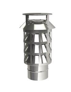 Schornsteinaufsatz Kaminaufsatz Zugverbesserer Zugverstärker mit Einschub