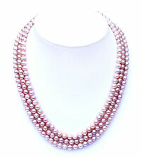 Multi-strand fresh water cultured pearl necklace NKL040001