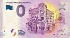 Billet Touristique 0 Euro - Cathédrale de Monaco - 2019-2
