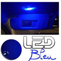 Volkswagen Polo 5 6R 6C1 2 Ampoules LED BLEU Miroirs courtoisie Pare-soleils