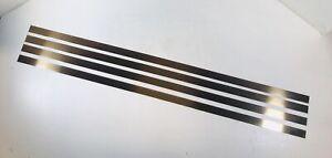 "Helmold Steel Rule Die Material 3/4"" x 30"" 2PT Hard Crease 4 Pieces Not Sharp"