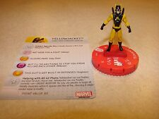 #010 Marvel Heroclix Civil War Yellow Jacket with card