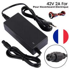 Chargeur Batterie 42V 2A Trottinette Hoverboard Scooter Skateboard Gyropode Vélo