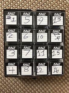 KALT Vintage Slide Cube & Storage Case - 16 Cubes