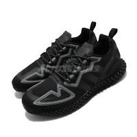 adidas Originals ZX 2K 4D Black Grey Men Running Shoes Sneakers Trainers FZ3561
