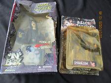 "Art Asylum Alice Cooper Rock ""N"" The Box Figure 2001.& Mcfarlane 2000"
