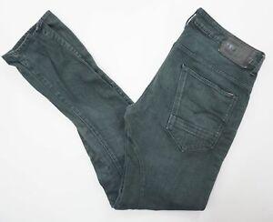 G-Star Jeans Hose Arc 3D Slim COJ W36 L36 grün stonewashed Denim E702