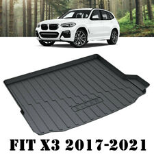 Heavy Duty Cargo Rubber Mat Boot Liner Luggage Tray for BMW X3 G01 2017-2021