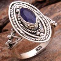 925 Sterling Silver Wire Wrapped Ring Handmade Meditation Ring All Size MM-143